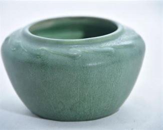 19. Hampshire Pottery Matte Green Bowl