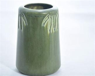 29. Rookwood Pottery Matte Green Art Nouveau Vase