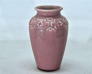 41. Rookwood Pottery Dusty Rose Vase