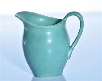 50. Rookwood Pottery Light Green Coffee Creamer