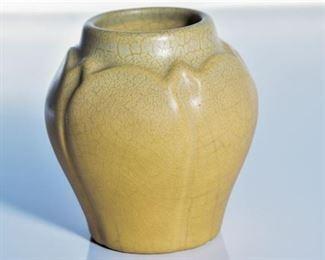 59. Rookwood Pottery Matte Yellow Bud Vase