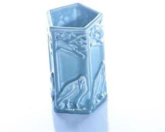 62. Rookwood Pottery Rook Vase with Pentagon Form