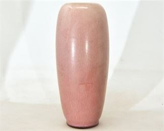 79. Rookwood Pottery Pink Rounded Vase