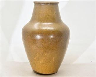 80. Rookwood Pottery Matte Brown Vase