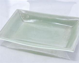 81. Rookwood Pottery Sea Green Dish