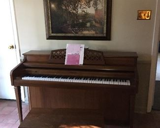 Nice Whitney by Kimball spinet piano.
