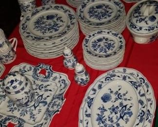 Blue Danube Blue Onion Fine China