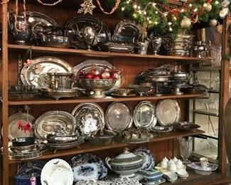 Silver plate is discounted  50% to 90% off