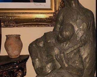Una Hanbury Huge Sculpture - over 3ft $900