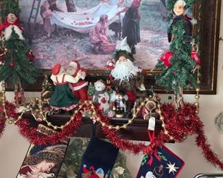 Over 300 Vintage Christmas Items very low prices