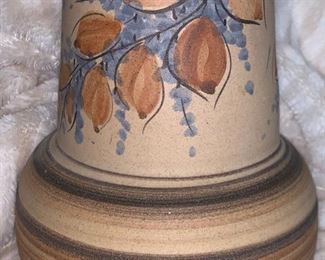 signed large pottery