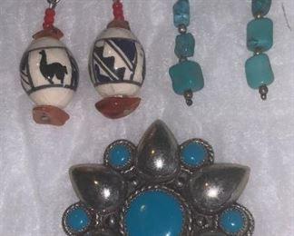 Sterling Silver Navajo  $40