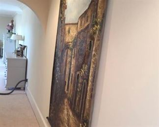6FT OIL PAINTING $225