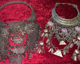 Old Pure Silver Large Bibs  $350...different prices..willing to negotiate