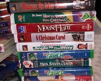 Vcrs & 300+ Disney Movie Collection