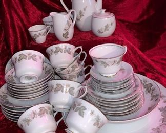 15 sets of china  $25 each set..yes each set is $25...can send more photos...We want them gone