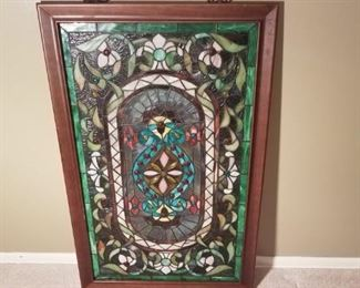 002 Framed Stained Glass