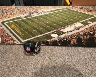 Antonio Brown Autographed Picture PLUS
