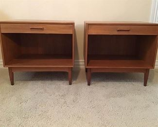MidCentury Danish Nightstands