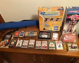 Miscellaneous Playing Cards and 1980s As Seen On TV Items