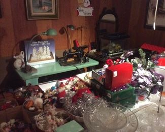 Lots of vintage christmas