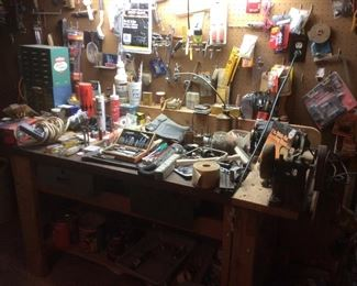 Loaded work bench