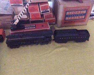 Lionel trains. 681 engine.