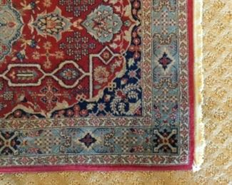 2x3 HAND KNOTTED ORIENTAL RUG, 650 KNOTS PER SQ IN