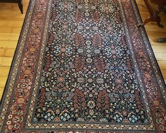 The rug from the other direction.