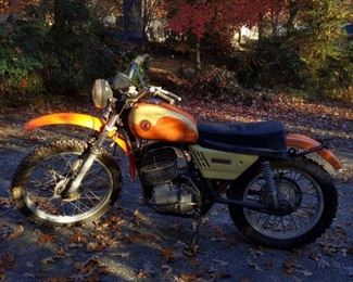 Vintage Enduro Dirt Bike
