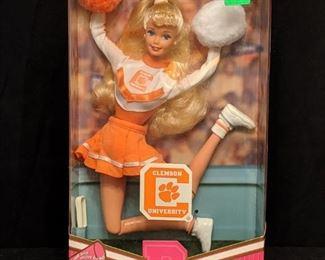 Clemson University Barbie