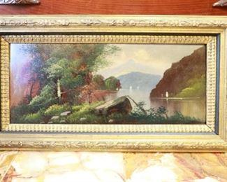 30 x 16 oil on board landscape