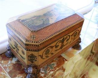 10h x 15L wood box