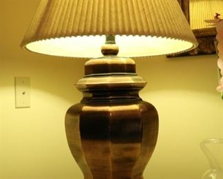 metal lamp 35 inches high