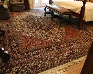 """wool rug 14'3"""" x 10'1"""""""