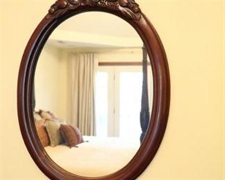oval mirror 29 high