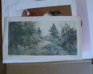 Paul Sawyler print Shaker Ferry Road