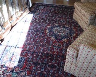 wool rug 7'1 x 10'3