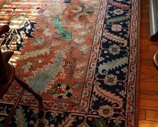 wool rug 8 x 11'9