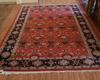 wool rug 6'3 x 9'3