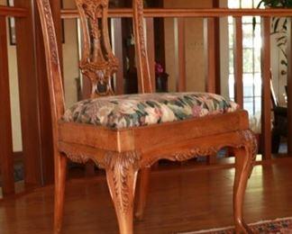 Dining chair 21 1/2w x 18d x 39h