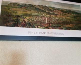 Remake of a Vintage Colorado Springs View