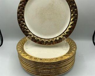 Taylor Smith 22k Gold Rimmed China
