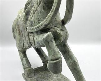 Spinach Jade Horse