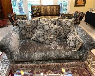 Pair of Upholstered Sofas