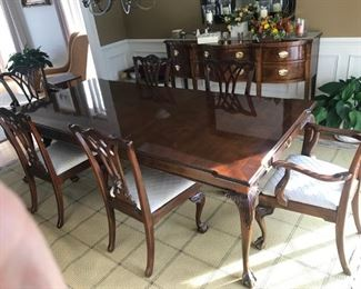 Dining Room Set may be sold ahead of sale