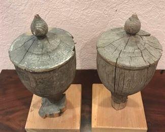 Wooden Finials https://ctbids.com/#!/description/share/291999