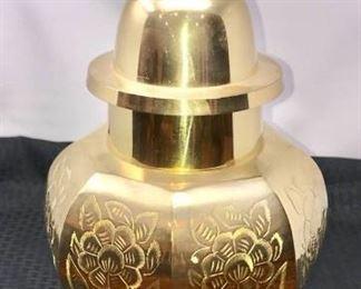 Brass Urn Temple Ginger Jar https://ctbids.com/#!/description/share/292003