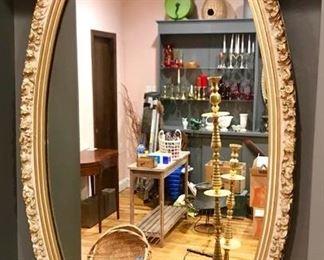 Vintage Walk Mirror # 2 https://ctbids.com/#!/description/share/292004