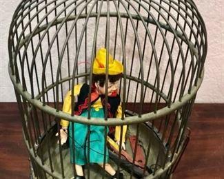 Antique Birdcage/Marionette https://ctbids.com/#!/description/share/292011